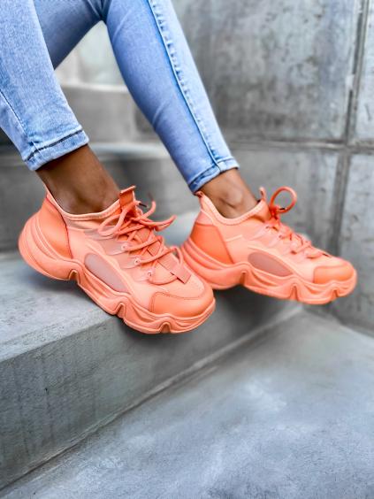 Oranžové tenisky SLAID