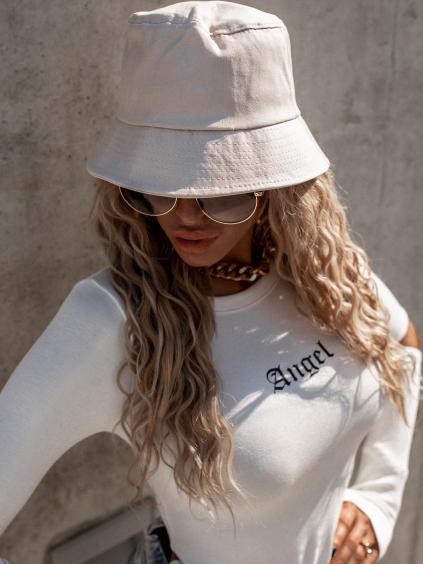 Béžový módní klobouk GENTLE