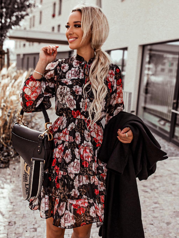 Šaty Britton (Barva Tyrkysová)