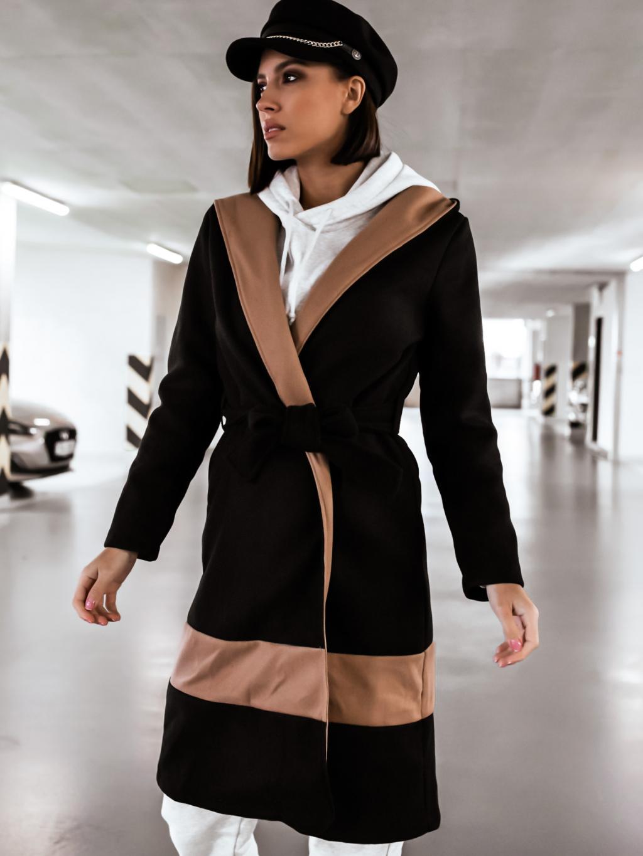 Kabát Marinella (Barva Hnědá)