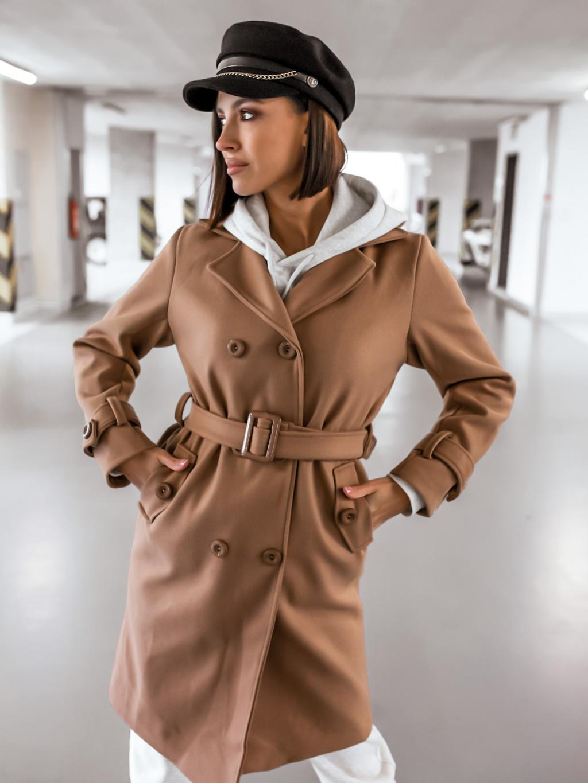 Kabát Bourney (Barva Šedá)