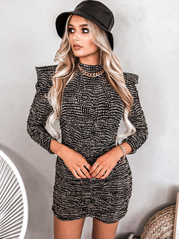 Šaty Malia (Barva Hnědá)