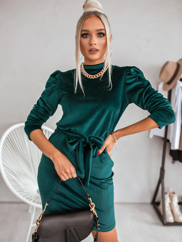 Šaty Sidonia (Barva Smaragdová)
