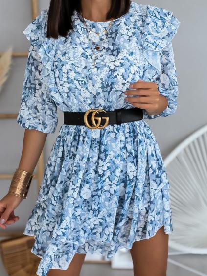 Šaty Heartless (Barva Tyrkysová)