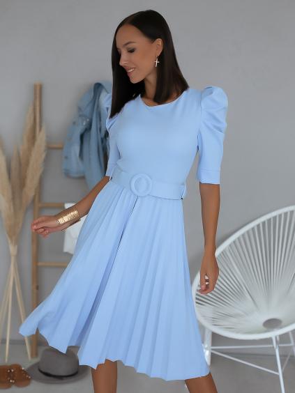 Šaty Christina (Barva Tyrkysová)