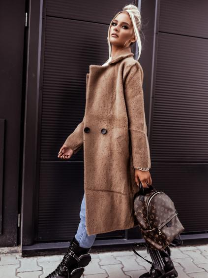 Kabát Girra (Barva Krémová)