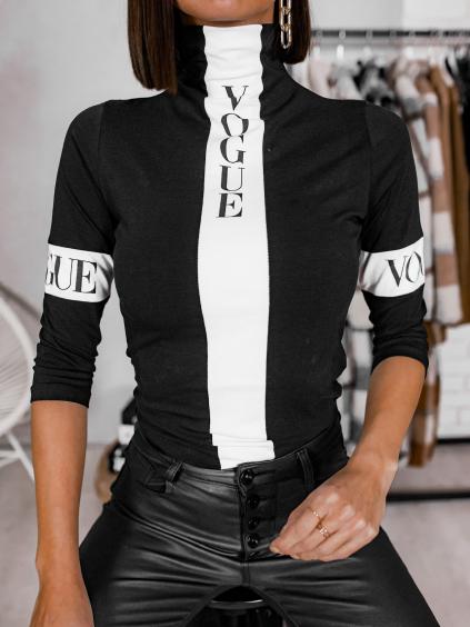 Triko Vogue (Barva Čierna)
