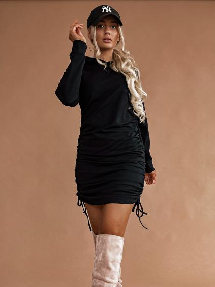 Šaty Behide (Barva Šedá)
