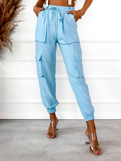 32631 2 svetle modre Nohavice style s kapsami