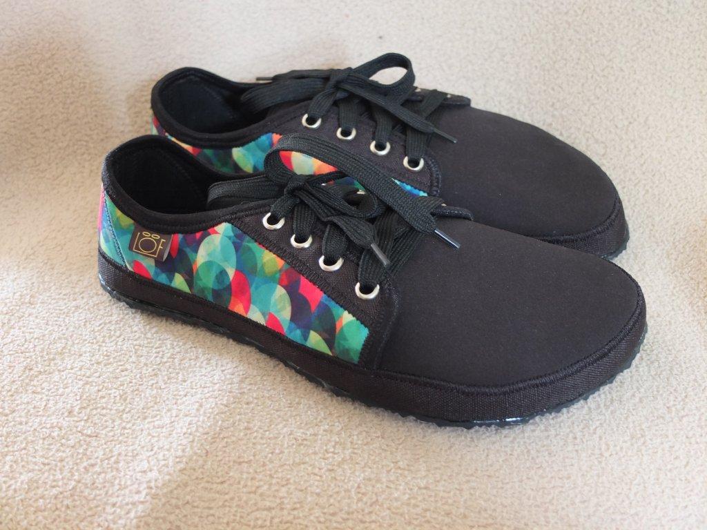 Barefoot tenisky softshell