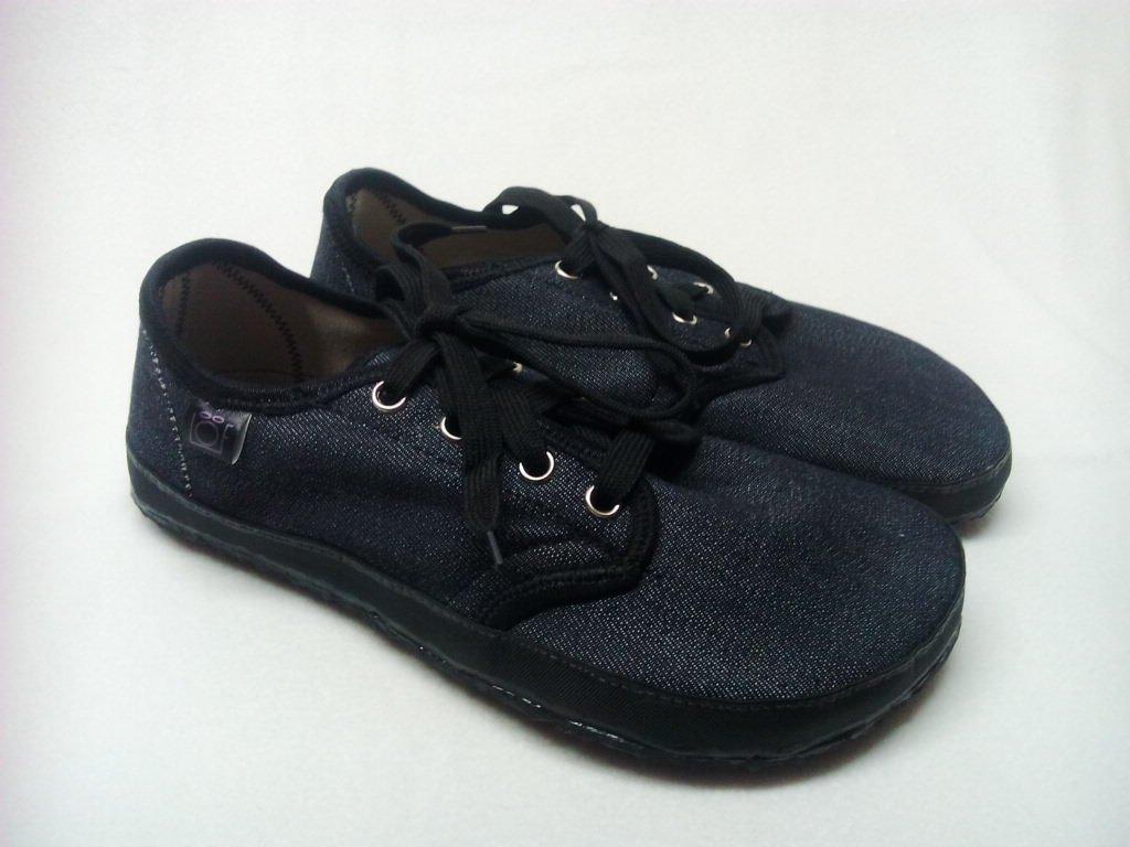 Barefoot tenisky riflové