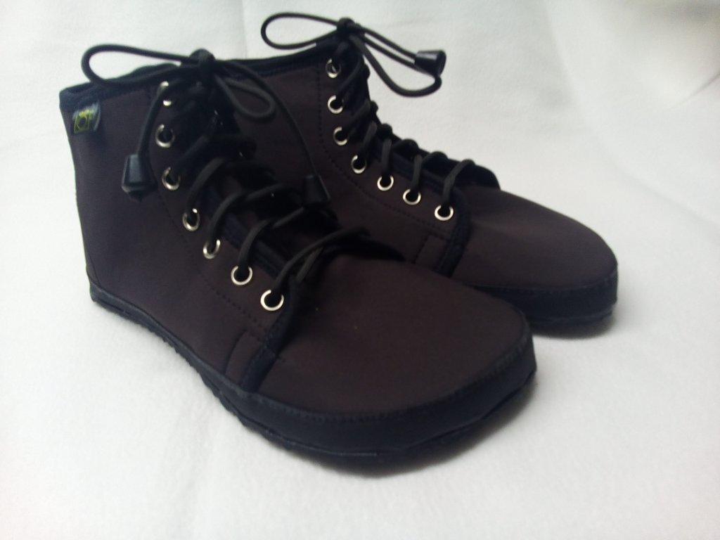 Bareefoot kotníčkové boty zimní