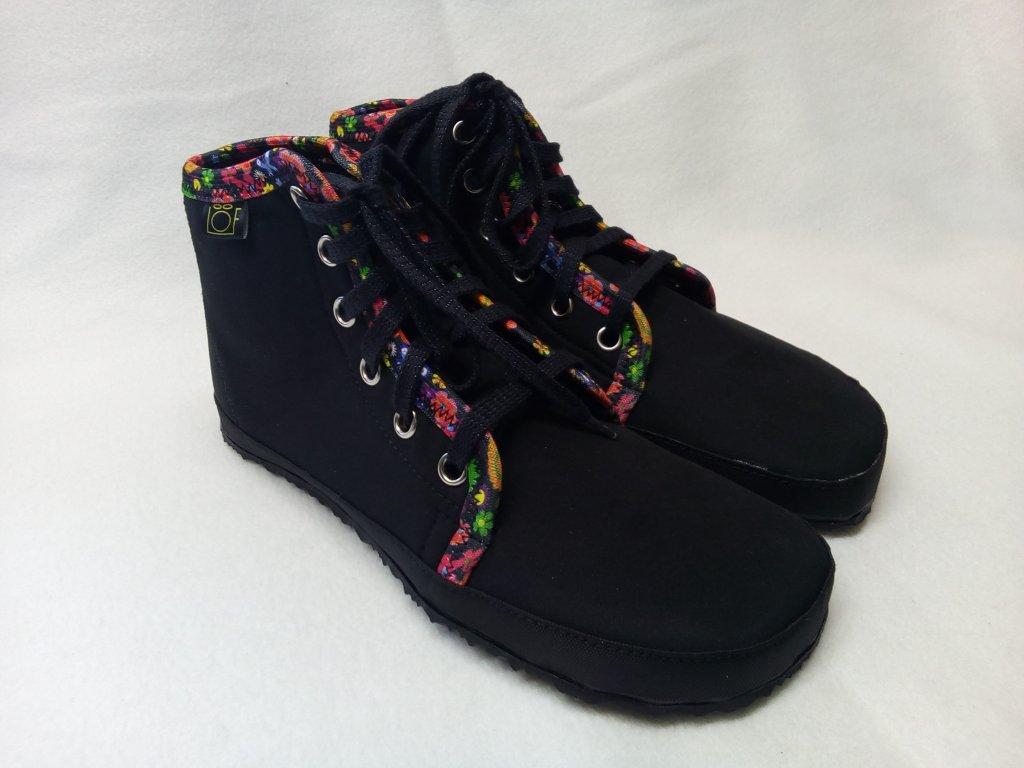 Barefoot kotníčkové boty zimní