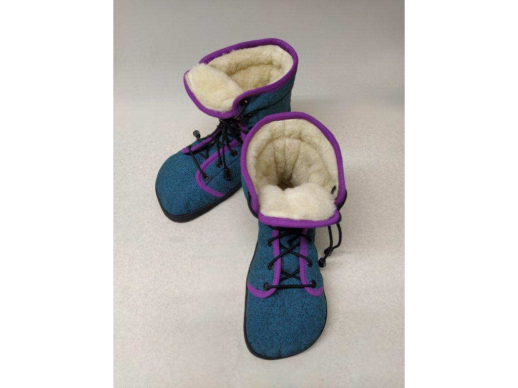 Merino podšívka do vysokých bot