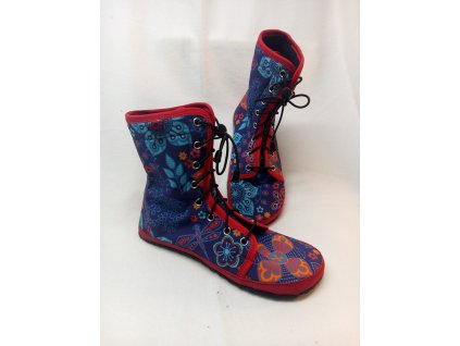 Barefoot vysoké boty zimní