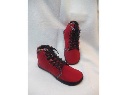 Barefoot kotníčkové boty celoroční