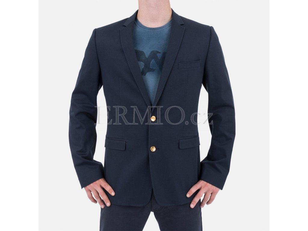 Pánské sako D&G tmavě modré