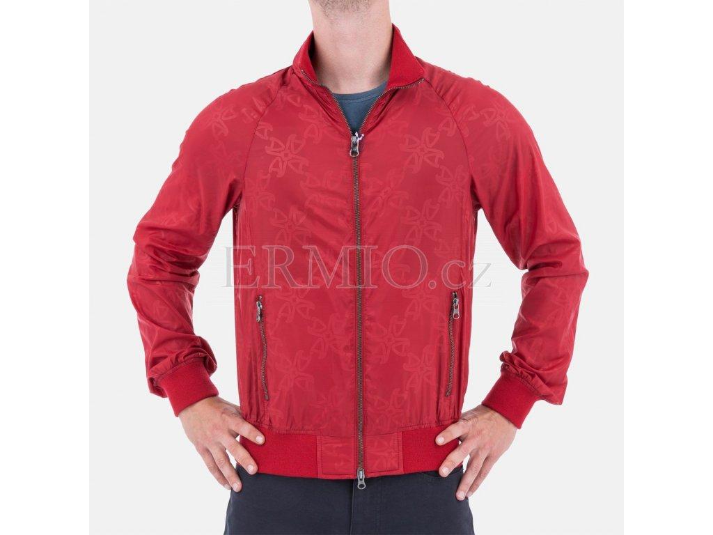 Pánská bunda Armani červená