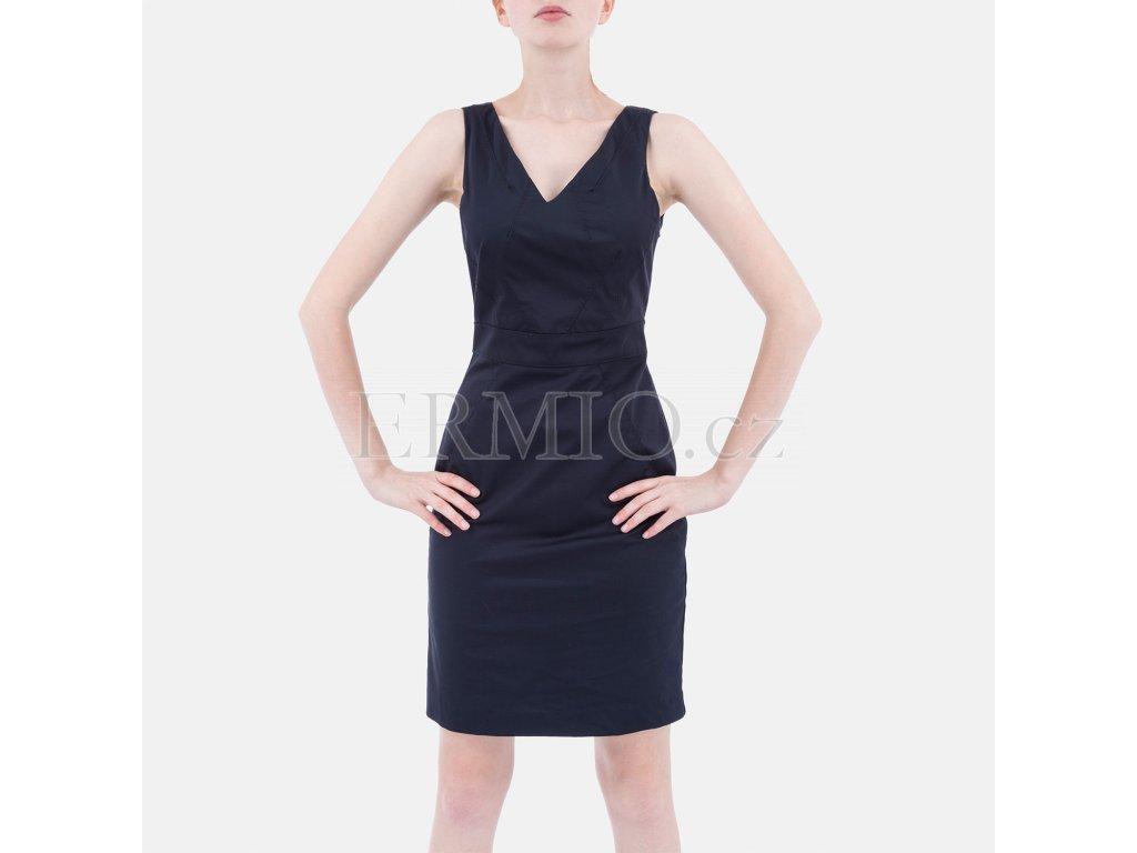 Luxusní společenské šaty Armani modré