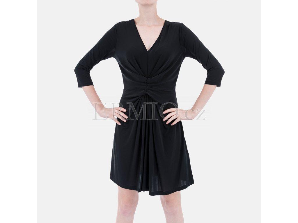 Luxusní společenské šaty Armani černé