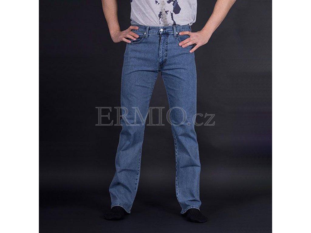 Regular džíny Armani modré
