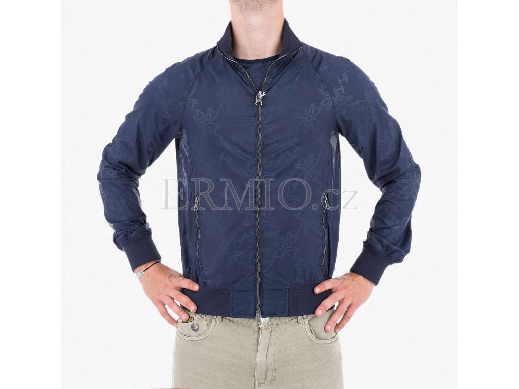 Pánská jarní bunda Armani modrá