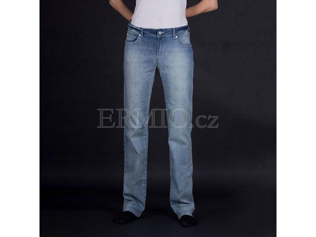 Značkové dámské jeansy Armani modré