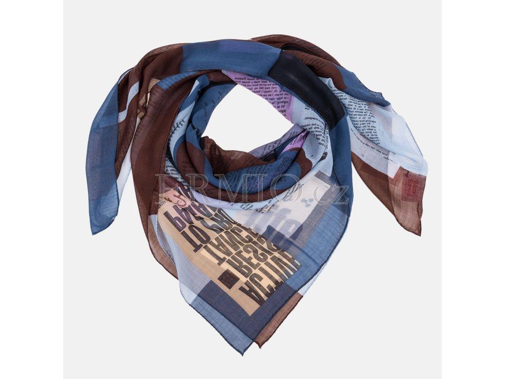 Luxusní dámský šátek Vivienne Westwood barevný