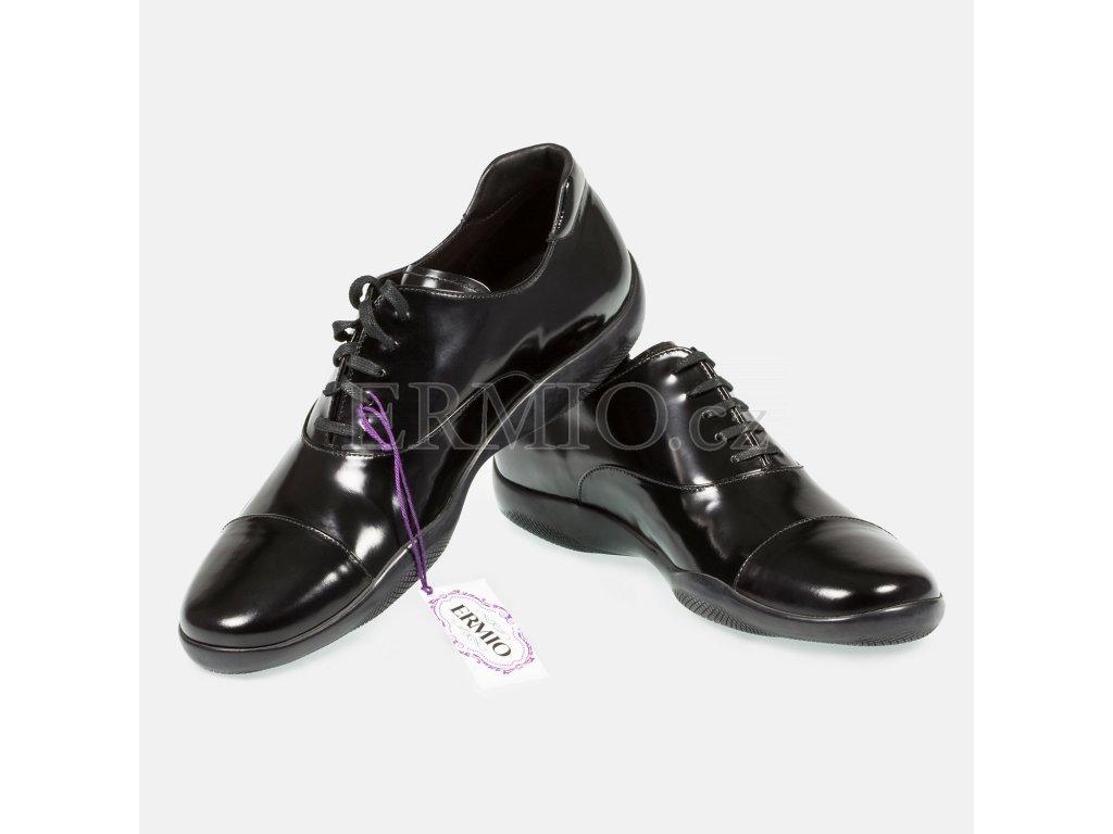 Značkové společenské boty PRADA