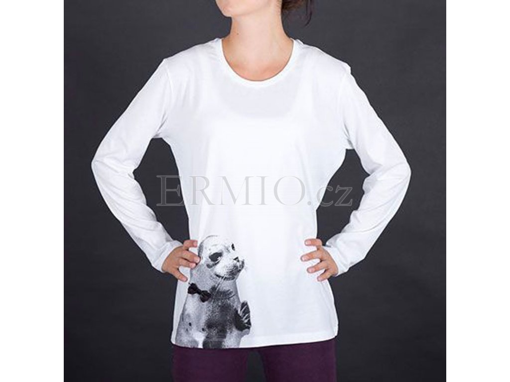 Tričko s roztomilým lachtanem Armani