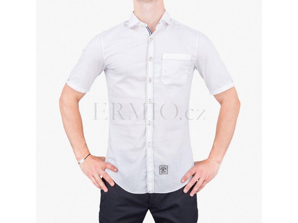 Pánská košile Armani bílá
