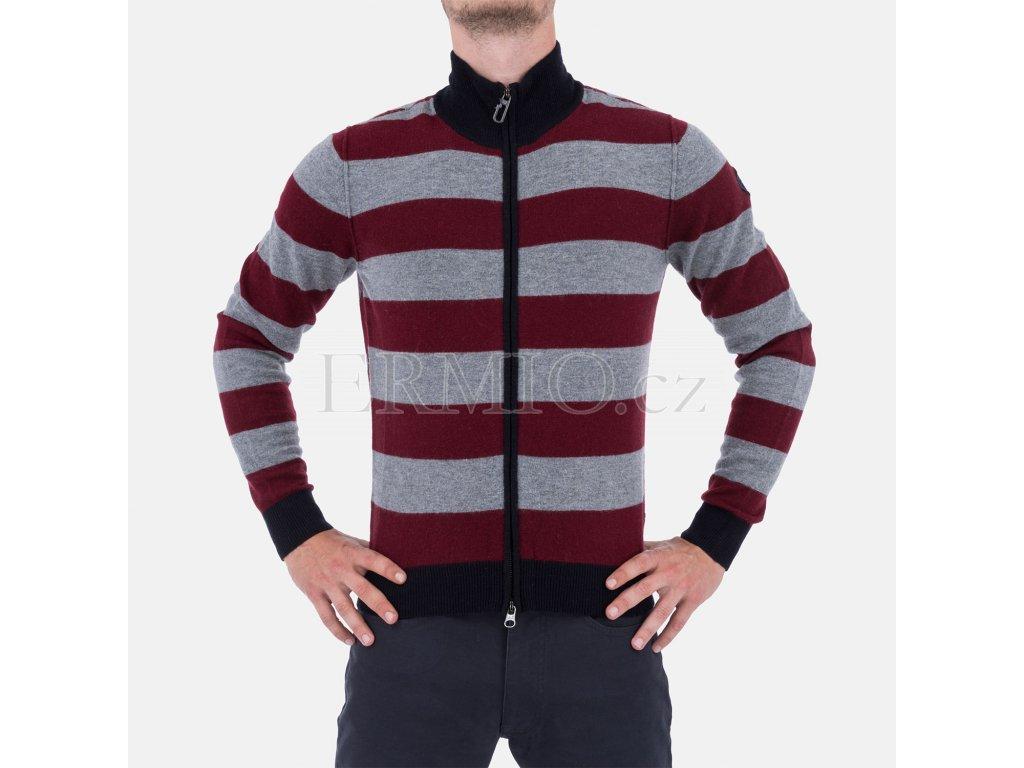 Pánský svetr na zip Armani