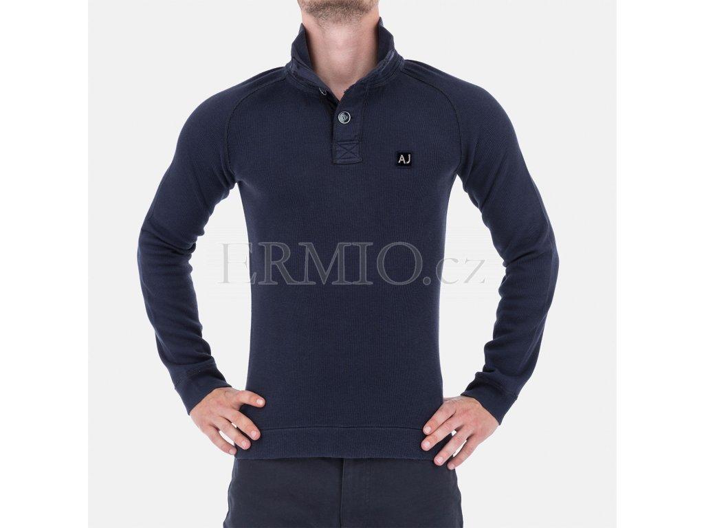 Pánský svetr Armani modrý