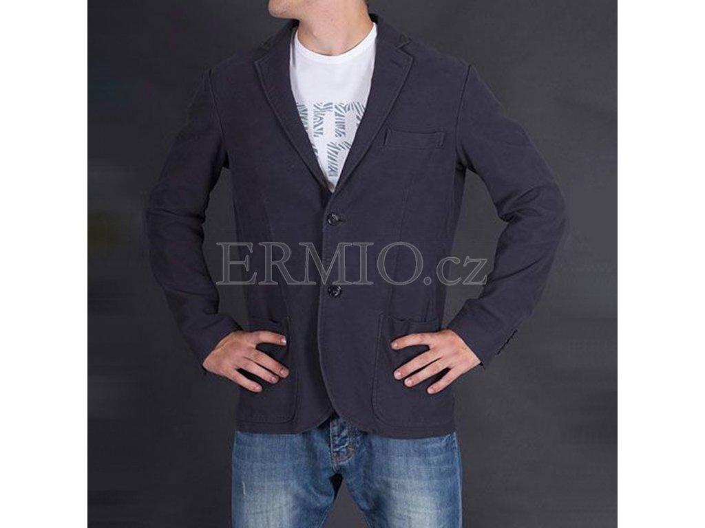 Podzimní pánské sako Armani modré