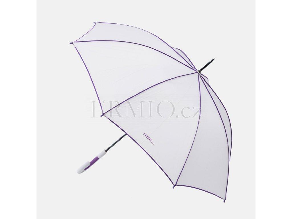 Velký šedý deštník GF Ferre