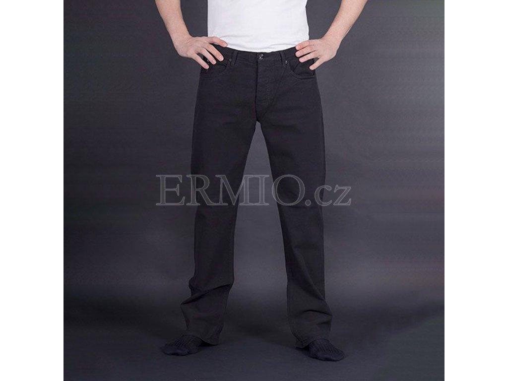 Značkové pánské džíny Armani černé