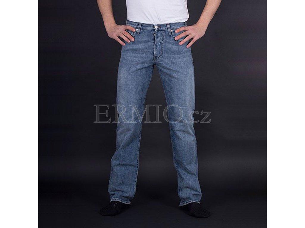 Značkové pánské džíny Armani modré
