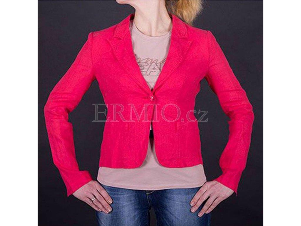 Nádherné dámské sako Armani Jeans růžové