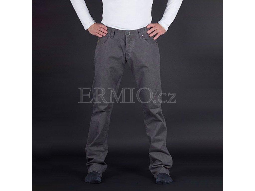 Stylové šedé pánské jeansy Armani Jeans