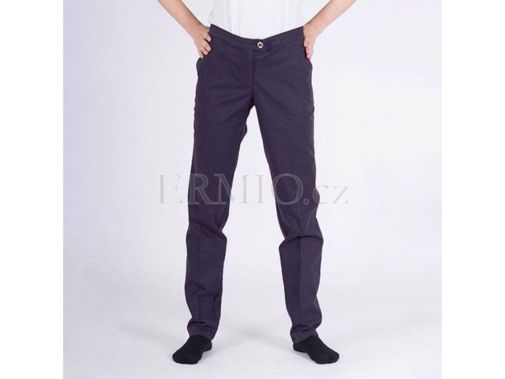Tmavě modré kalhoty Armani Jeans