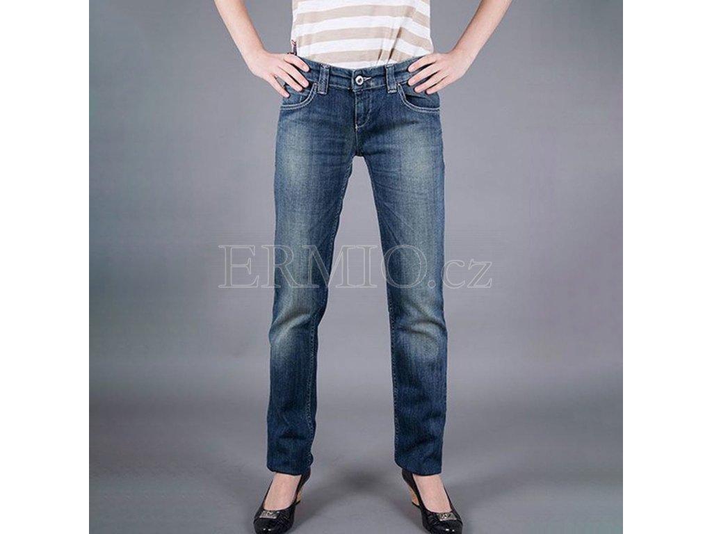 Luxusní dámské džiny Armani Jeans dámské modré