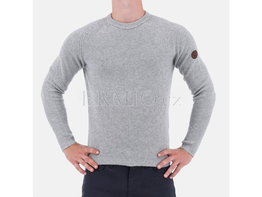 Pánský šedý svetr Armani