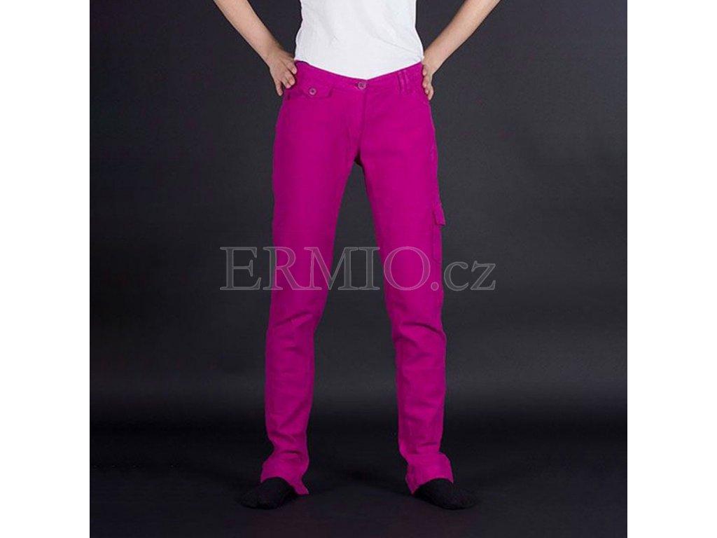 Dámské růžové džíny Armani