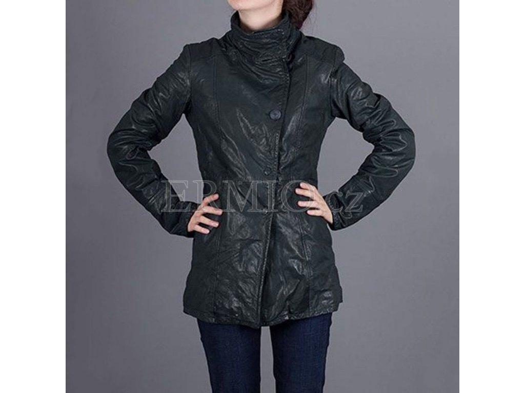 83ec0c5cdeba Luxusní Kožená dámská bunda Armani Jeans v e-shopu   Ermio Fashion