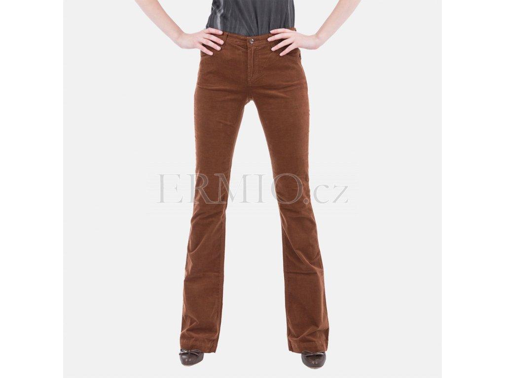 Dámské hnědé jeansy Armani