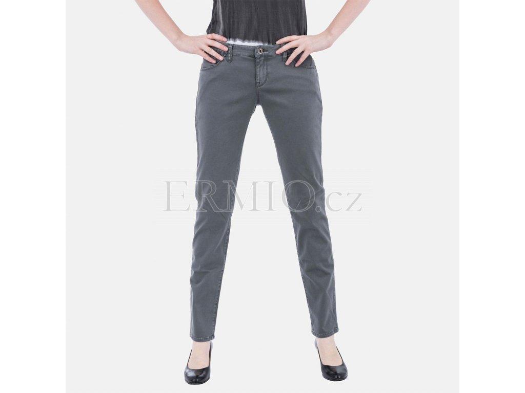 Dámské šedé jeansy Armani