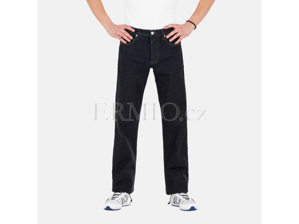 Modré pánské rifle Armani Jeans