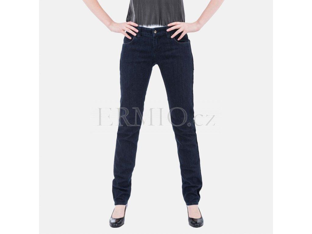 Tmavě modré dámské jeansy Armani