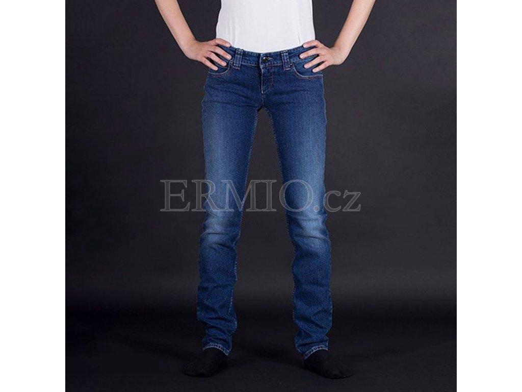 Značkové dámské rifle Armani Jeans