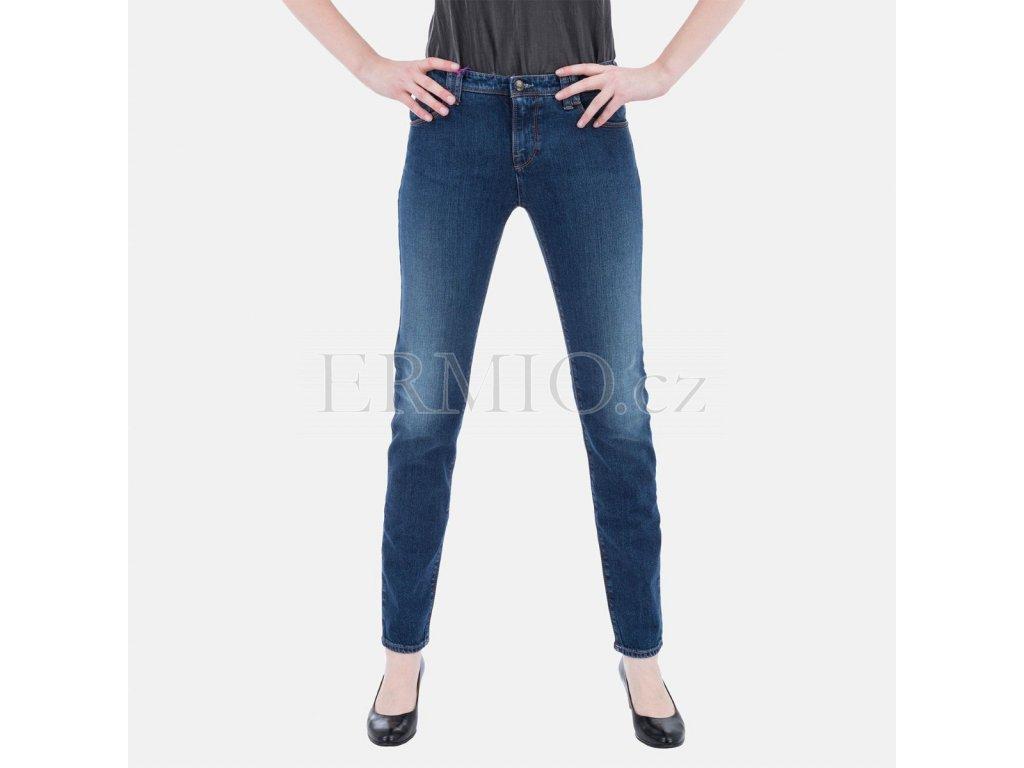 Dámské modré jeansy Armani